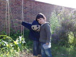 Ewan and the Scarecrow