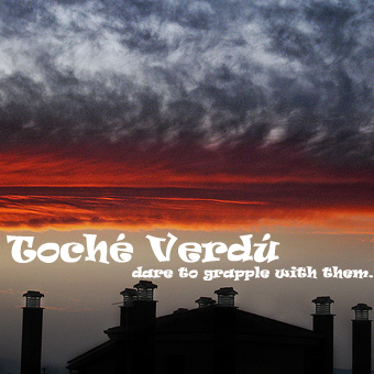 Toché Verdú - dare to grapple with them